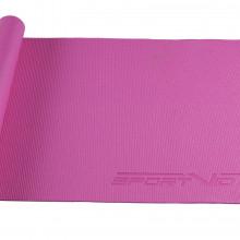 Коврик (мат) для йоги и фитнеса SportVida PVC 4 мм SV-HK0049 Pink