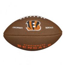 Мини-мяч для американского футбола Wilson NFL Team Logo Mini WTF1533XBCN (для детей до 10 лет)