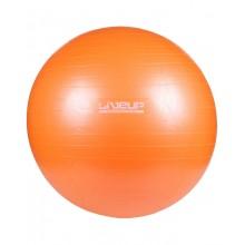 Мяч для фитнеса 65 см. (фитбол) LiveUp Anti-Burst (оранжевый)