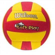 Волейбольный мяч Wilson SUPER SOFT PLAY VB RDYE B SS14