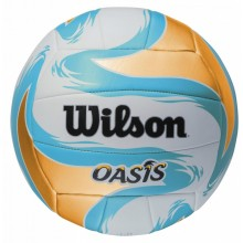Волейбольный мяч Wilson OASIS BLUE YELLOW SS14
