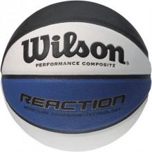 Баскетбольный мяч Wilson REACTION BLA/WHI/BLU TRAINING BALL SS14
