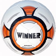 Мяч для футбола Winner SPIRIT (бело-синий)