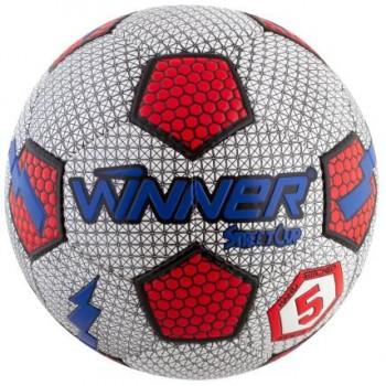 Мяч для футбола Winner Street Cup для игры на асфальте (белый)