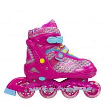 Роликовые коньки Nils Extreme NJ4613A Size 38-41 Pink