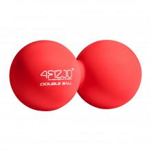 Массажный мяч двойной 4FIZJO Lacrosse Double Ball 6.5 x 13.5 см 4FJ1219 Red