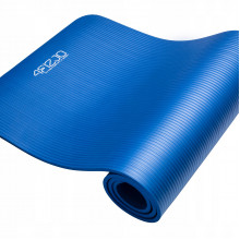 Коврик (мат) для йоги и фитнеса 4FIZJO NBR 1 см 4FJ0014 Blue