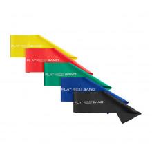 Лента-эспандер для спорта и реабилитации 4FIZJO Flat Band 5 шт 200 х 15 cм 1-15 кг 4FJ1127