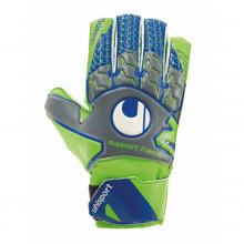 Вратарские перчатки Uhlsport Tensiongreen Soft SF Junior Size 6 Green/Blue