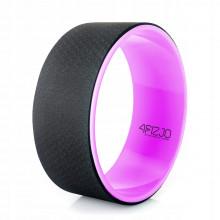 Колесо для йоги и фитнеса 4FIZJO Dharma 4FJ1455 Pink