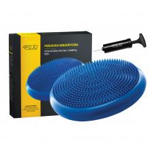 Балансировочная подушка (сенсомоторная) массажная 4FIZJO PRO+ 4FJ0022 Blue