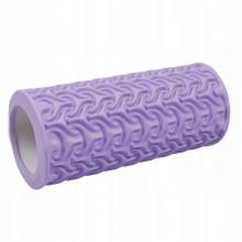Массажный ролик (валик, роллер) SportVida EVA 33 x 14 см SV-HK0225 Purple