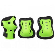 Комплект защитный SportVida SV-KY0001-S Size S Black/Green
