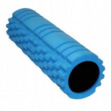 Массажный ролик (валик, роллер) SportVida EVA 45 x 14 см SV-HK0213 Blue