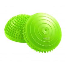Полусфера массажная балансировочная (массажер для ног, стоп) 4FIZJO Balance Pad 16 см 4FJ0059 Green