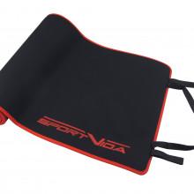 Коврик (мат) для йоги и фитнеса SportVida Neopren 6 мм SV-HK0037 Black