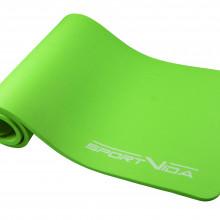 Коврик (мат) для йоги и фитнеса SportVida NBR 1.5 см SV-HK0250 Green