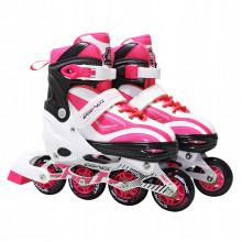 Роликовые коньки SportVida SV-LG0043 Size 35-38 White/Pink