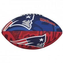 Мяч для американского футбола Wilson NFL New England WTF1534XBNE (детский размер)