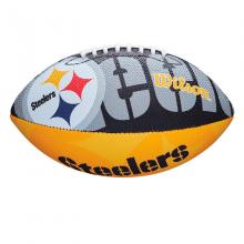 Мяч для американского футбола Wilson NFL Steelers WTF1534XBPT (детский мяч)