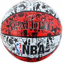 Баскетбольный мяч Spalding Graffiti Red