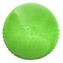 Мяч для фитнеса (фитбол) полумассажный SportVida 55 см Anti-Burst SV-HK0291 Green