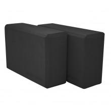 Блок для йоги 2 шт SportVida SV-HK0175-2 Black