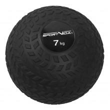 Слэмбол (медицинский мяч) для кроссфита SportVida Slam Ball 7 кг SV-HK0349 Black