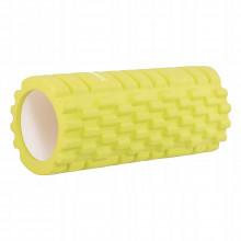 Массажный ролик (валик, роллер) Springos 33 x 14 см FR0015 Yellow