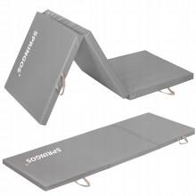 Мат гимнастический складной Springos 180 x 60 x 5.5 cм FA0062 Grey