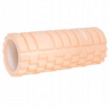 Массажный ролик (валик, роллер) Springos 33 x 14 см FR0021 Light Orange
