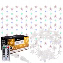 Гирлянда бахрома уличная (наружная) Springos 2 м 136 LED Pilot CL4008 Mix