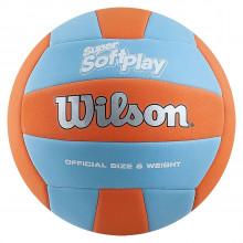 Волейбольный мяч Wilson Super Soft Play Orange\Blue (арт. WTH90119XB)