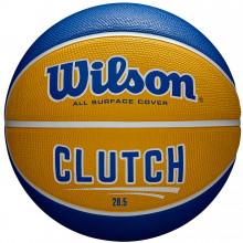 Баскетбольный мяч Wilson Clutch Yellow WTB14198XB06 (размер 6)