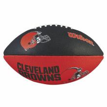 Мяч для американского футбола Wilson NFL Cleveland Browns WTF1534XBCL (детский мяч)