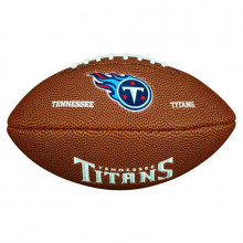 Мини-мяч для американского футбола Wilson NFL Team Logo Mini WTF1533XBTN (для детей до 10 лет)