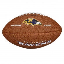 Мини-мяч для американского футбола Wilson NFL Team Logo Mini WTF1533XBBA (для детей до 10 лет)