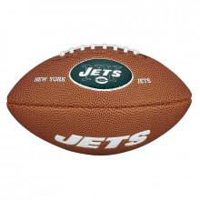 Мини-мяч для американского футбола Wilson NFL Team Logo Mini WTF1533XBNJ (для детей до 10 лет)