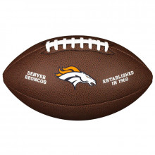 Мяч для американского футбола Wilson NFL Denver Broncos WTF1748XBDN (размер 5)