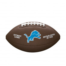 Мяч для американского футбола Wilson NFL Lions WTF1748XBDT (размер 5)