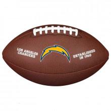 Мяч для американского футбола Wilson NFL Los Angeles Chargers WTF1748XBLAC (размер 5)