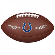 Мяч для американского футбола Wilson NFL Indianapolis Colts WTF1748XBIN (размер 5)