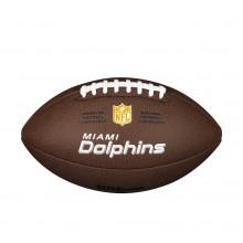 Мяч для американского футбола Wilson NFL Miami Dolphins WTF1748XBMI (размер 5)