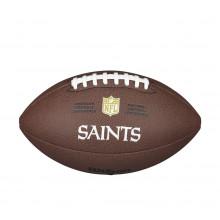 Мяч для американского футбола Wilson NFL Saints WTF1748XBNO (размер 5)