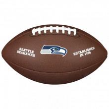Мяч для американского футбола Wilson NFL Seahawks WTF1748XBSE (размер 5)