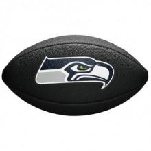Мини-мяч для американского футбола Wilson NFL Team Logo Mini WTF1533BLXBSE (для детей до 10 лет)