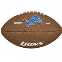 Мини-мяч для американского футбола Wilson NFL Team Logo Mini WTF1533XBDT (для детей до 10 лет)