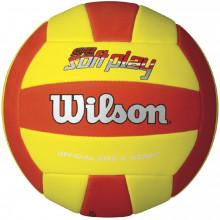 Волейбольный мяч Wilson Super Soft Play Red\Yellow (арт. WTH3509XB)