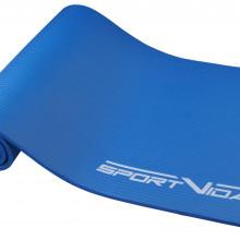 Коврик (мат) для йоги и фитнеса SportVida NBR 1 см SV-HK0069 Blue