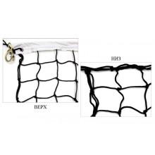 Сетка для волейбола Элит 10 UR ZEL SO5274 (РР-3,5 мм, р-р-9,5*1 м, ячейка 10*10 см, метал. трос)